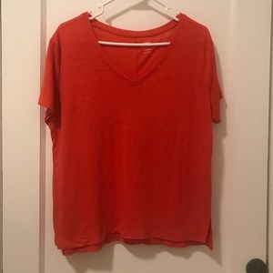Orange Old Navy T-Shirt (M)